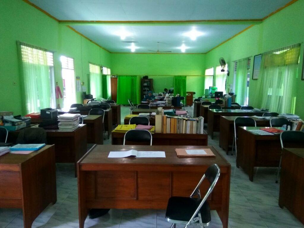 Ruang Kantor Guru Smk Muhammadiyah 4 Klaten